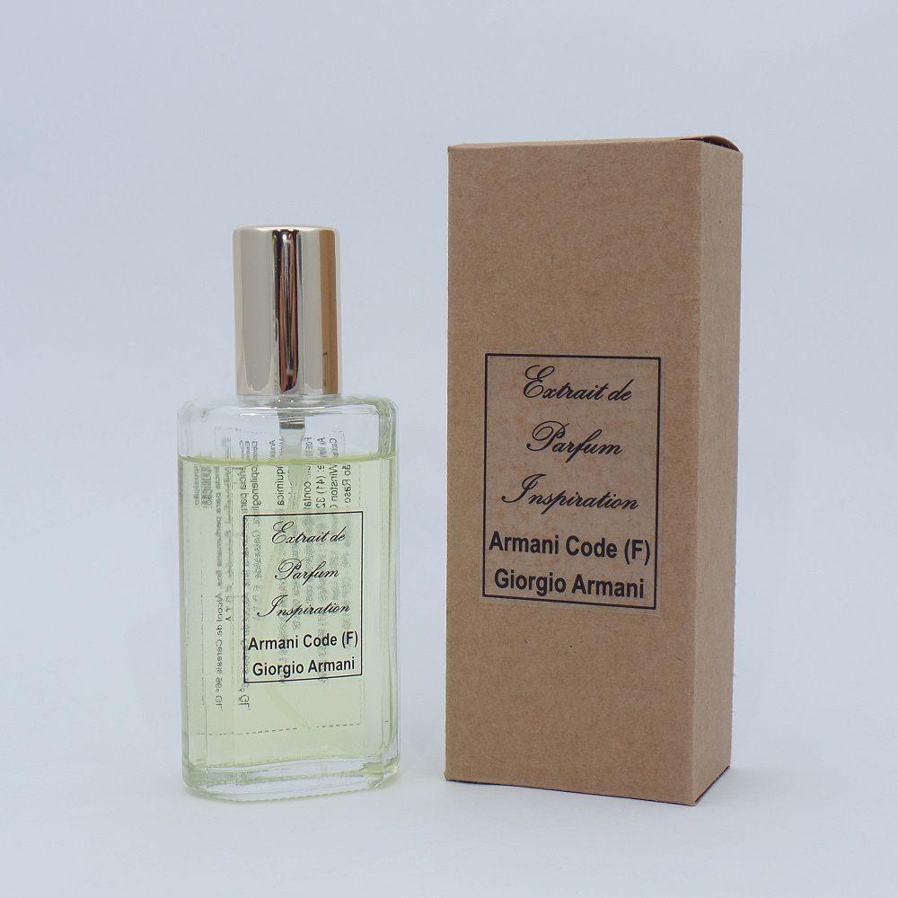 Kit Extrait de Parfum Inspiration - Armani Code (F) - 60 ml
