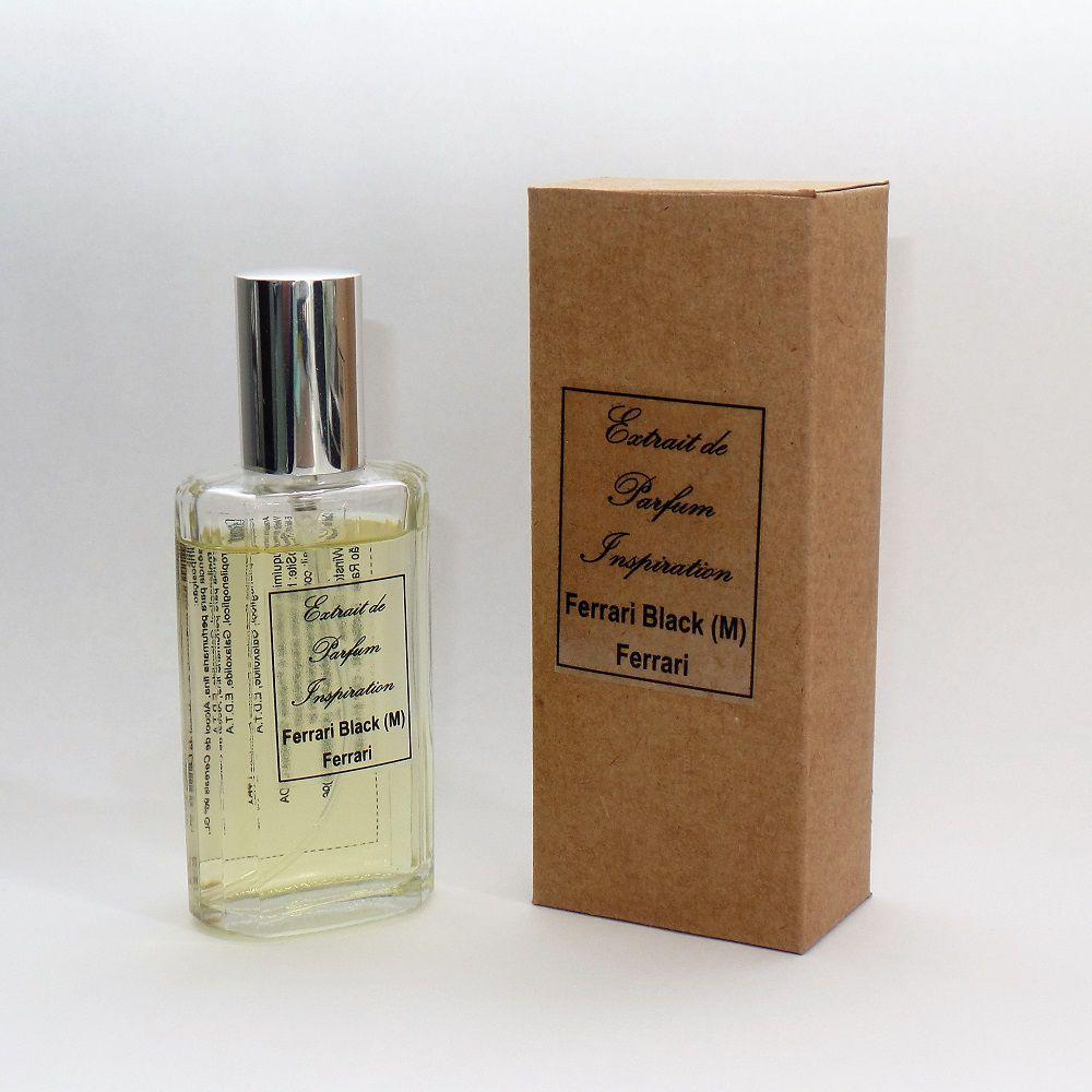 Kit Extrait de Parfum Inspiration - Ferrari Black (M) - 60 ml
