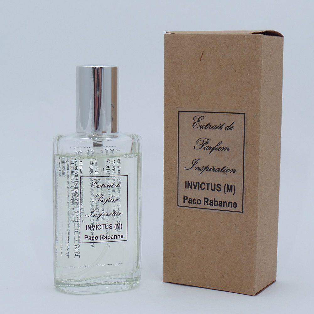 Kit Extrait de Parfum Inspiration - Invictus Paco Rabanne (M) - 60 ml