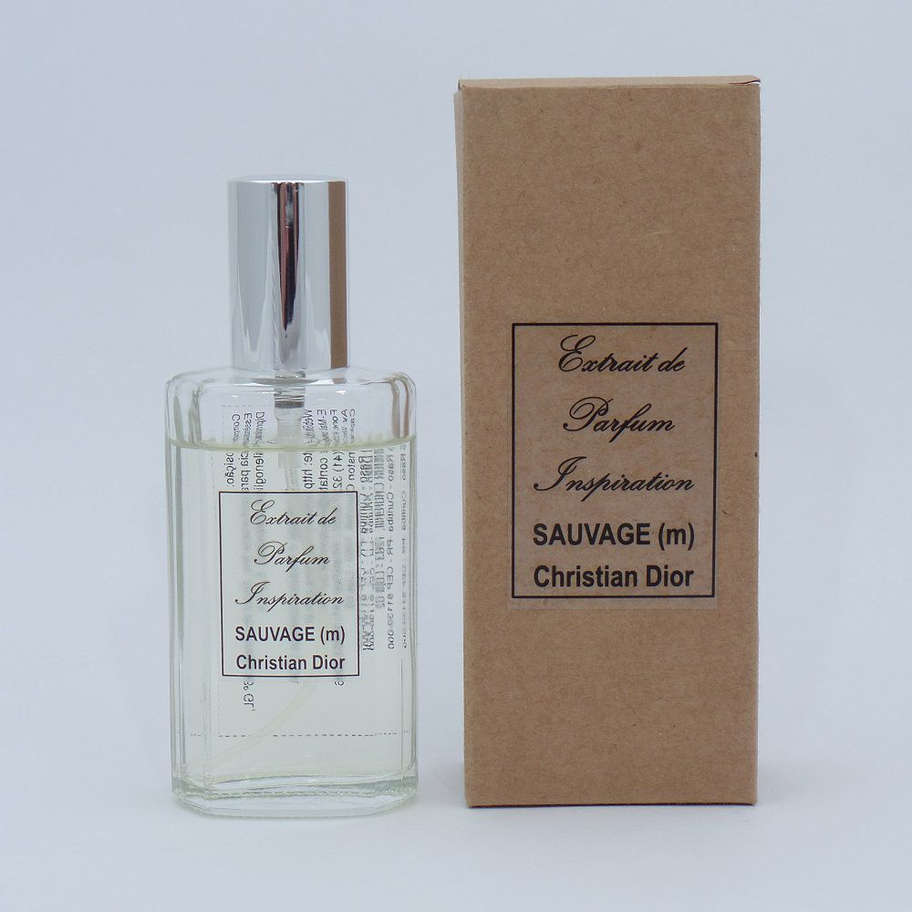 Kit Extrait de Parfum Inspiration - Sauvage Christian Dior (M) - 60 ml