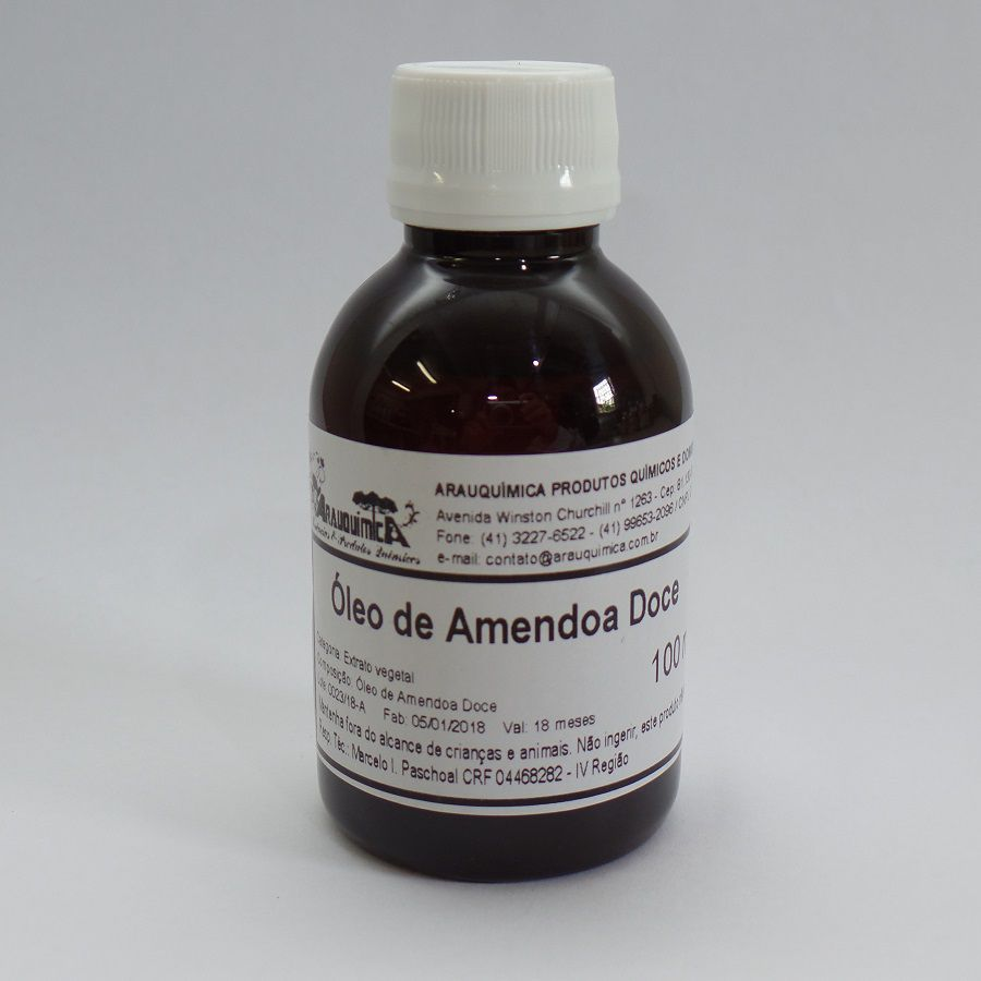 Óleo de Amêndoas Doce 100 ml