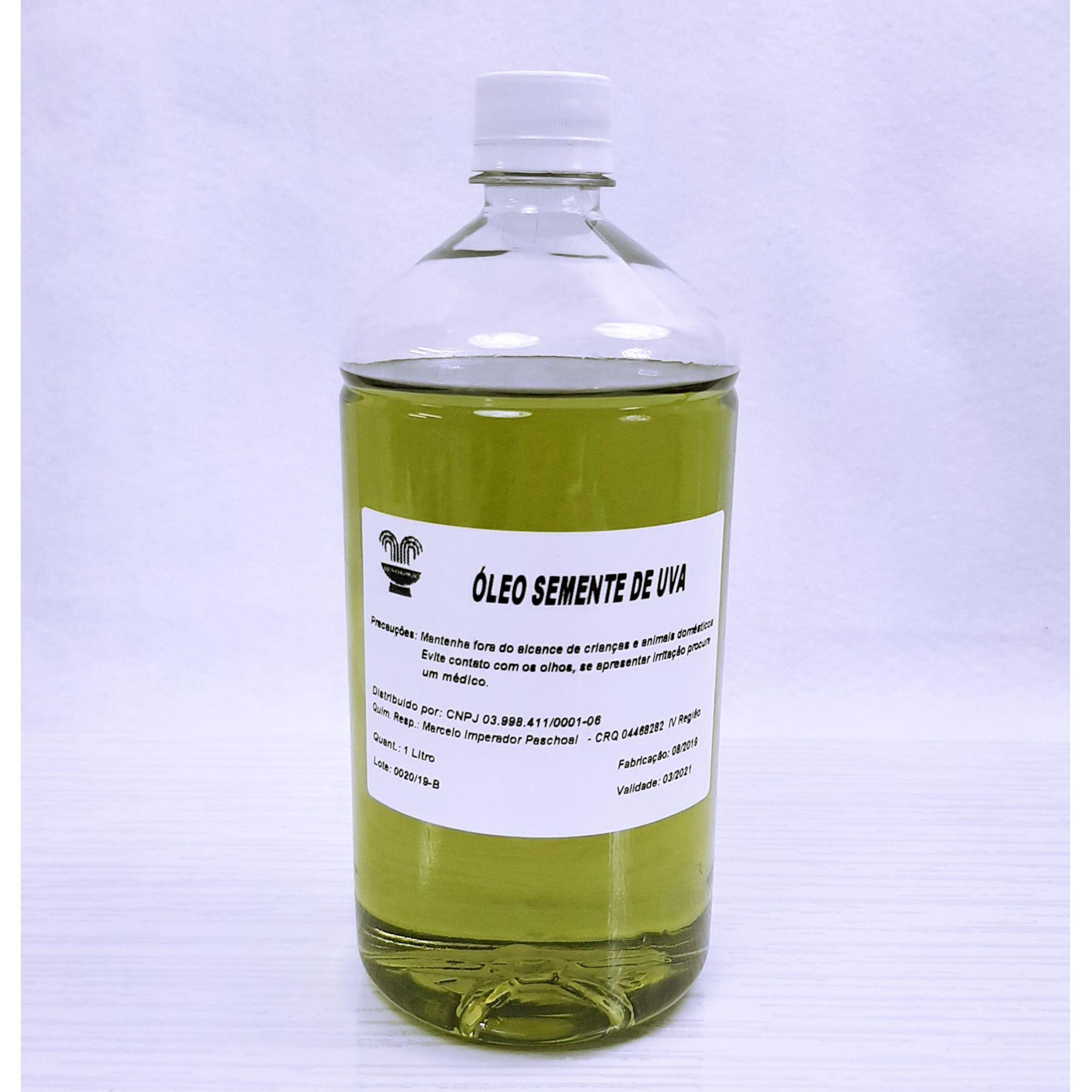 Óleo de Semente de Uva - 1000 ml