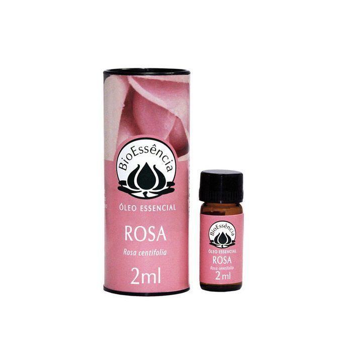 Óleo Essencial Rosa 2ml