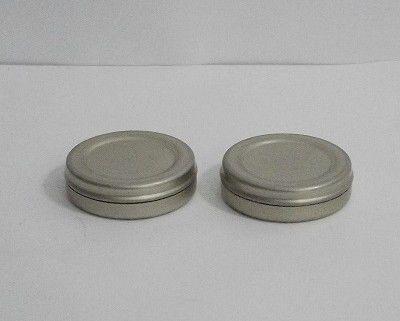 Pote de lata com tampa - 15 g