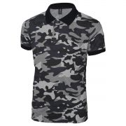 Camisa Polo Rg518 Camuflada