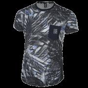 Camiseta Masculina Floral Estampada