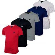 Kit Blusa Camiseta Masculina com 5 Cores