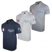 Kit Camisa Gola  Polo Masculino Plus Size