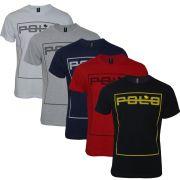 Kit Camisetas Masculinas Com Estampa Frontal RG518
