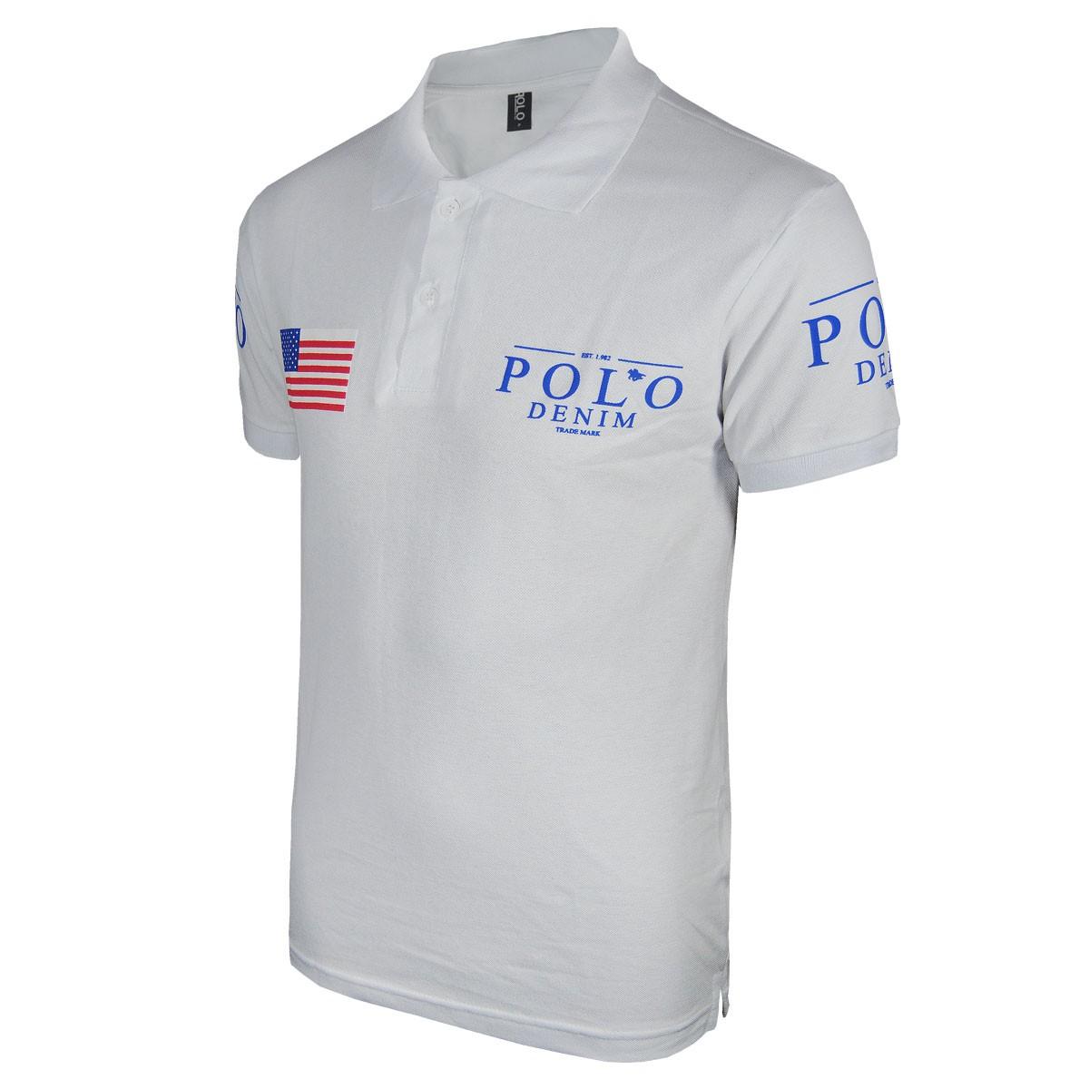 Camisa Gola Polo Masculina Plus Size