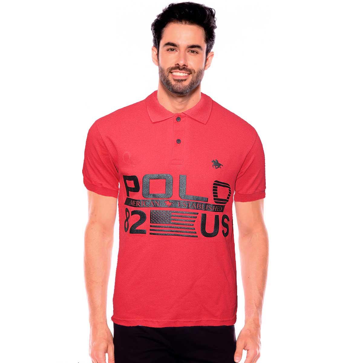 Camisa Gola Polo Masculina  Usa Polo RG518