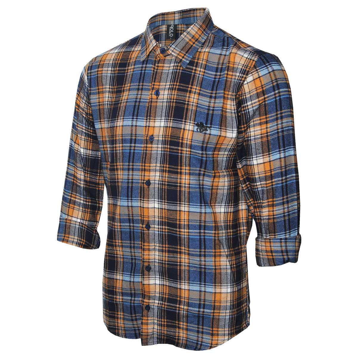 Camisa Masculina Manga Longa Flanela