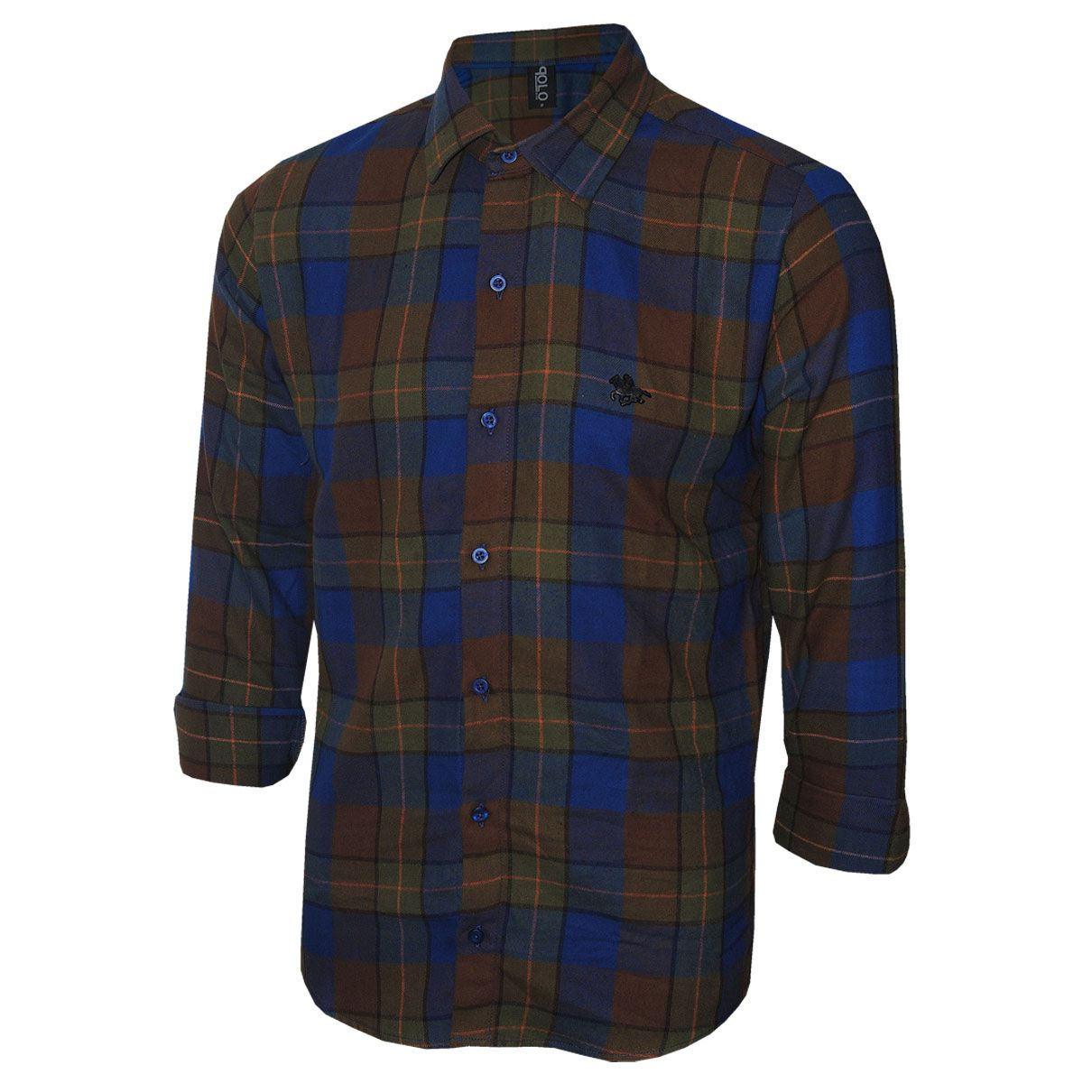 Camisa Masculina Polo RG518 Flanelada