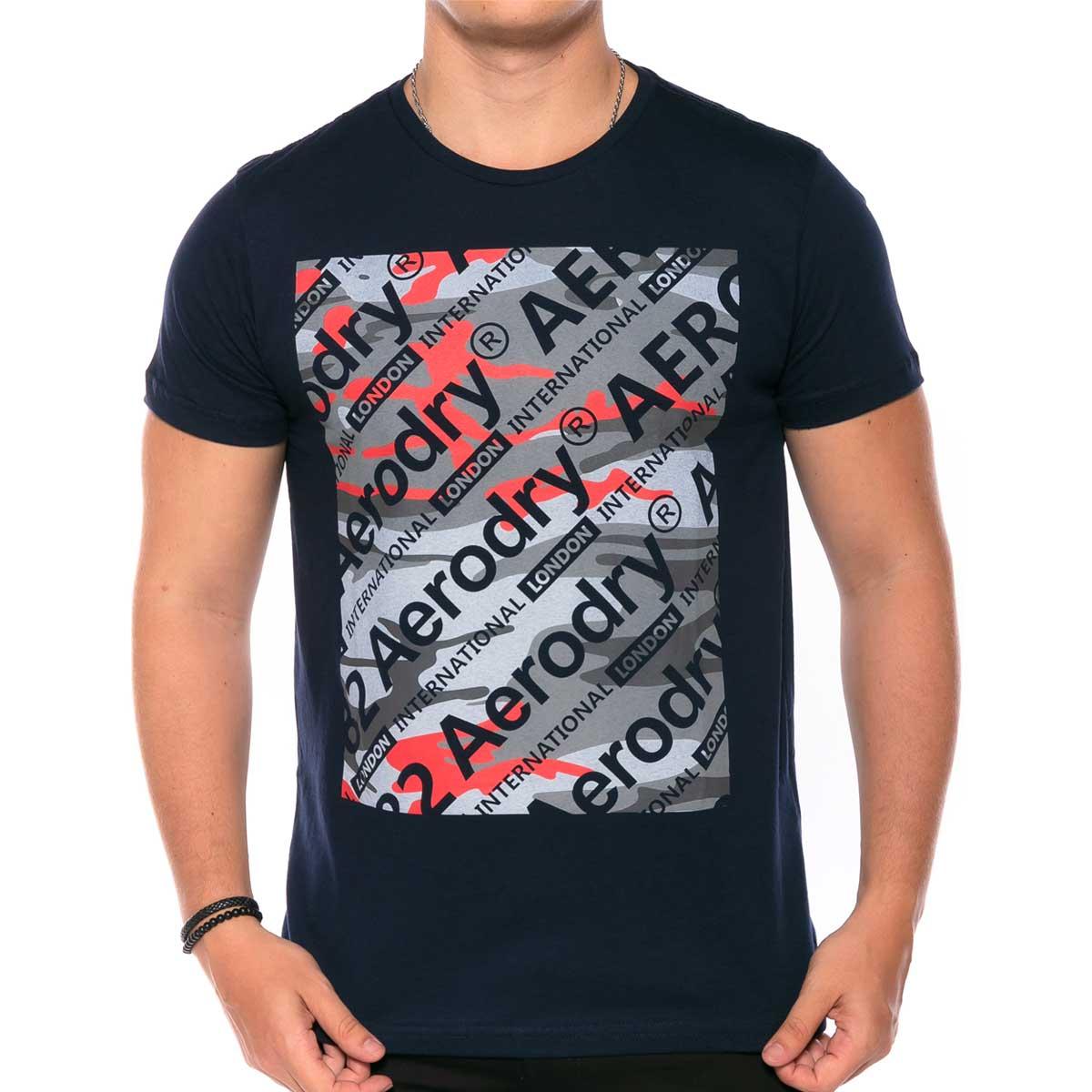 Camiseta Aerodry com Estampa Mix