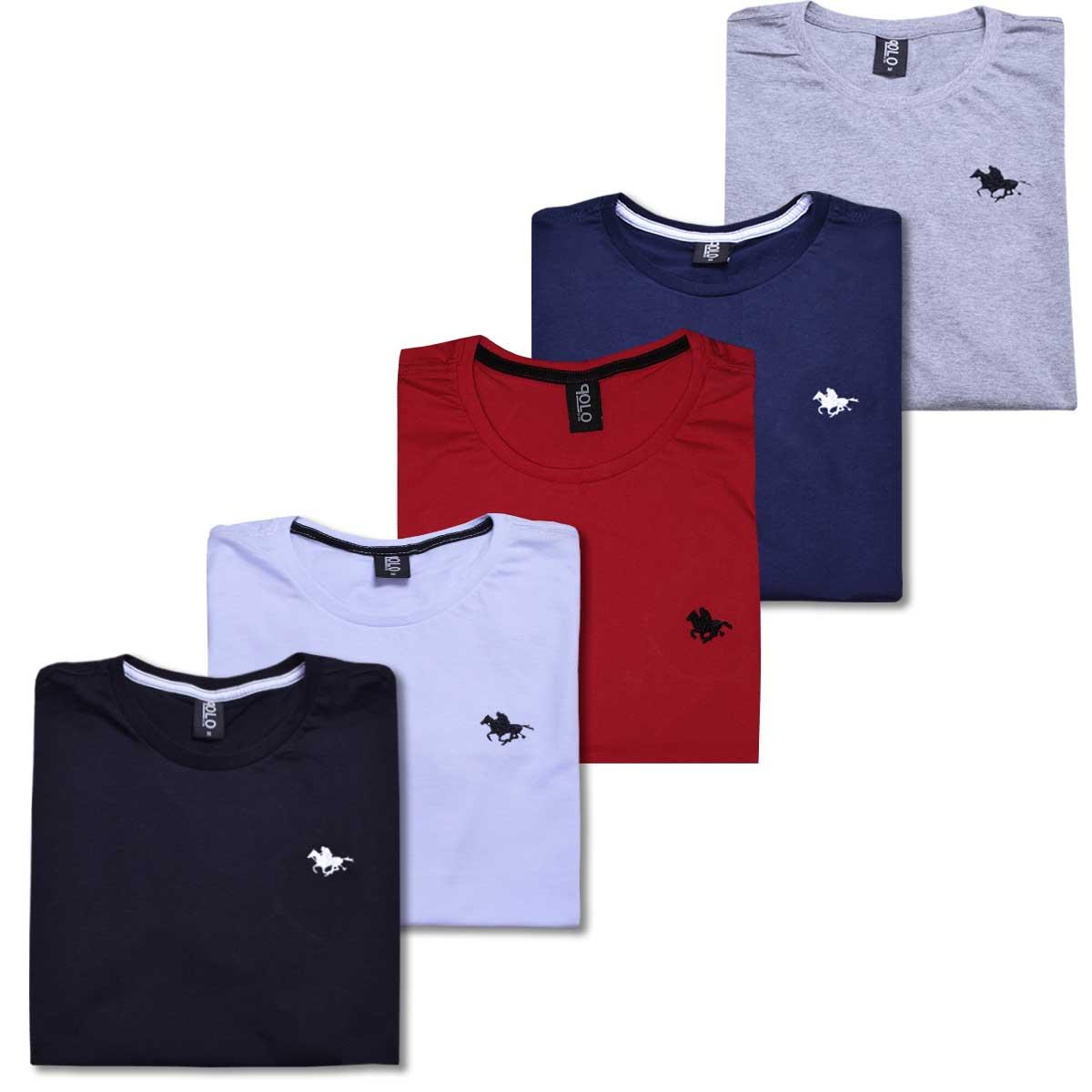 Camiseta Básica Juvenil Polo Rg518 05 Cores