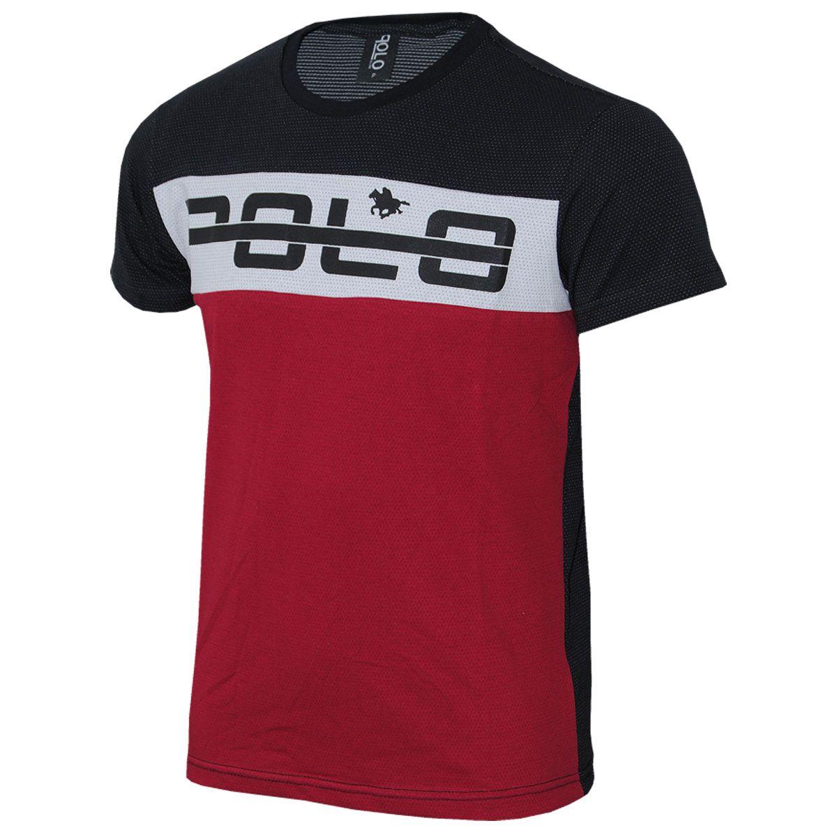 Camiseta em Malha Micro furos  Estampa e Recorte