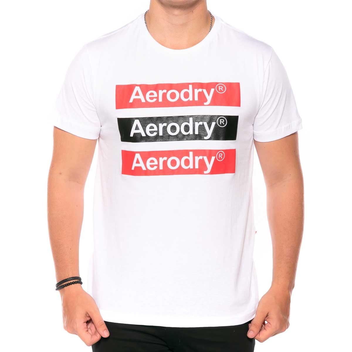 Camiseta em Meia Malha estampada com Plastisol Aerodry rg518