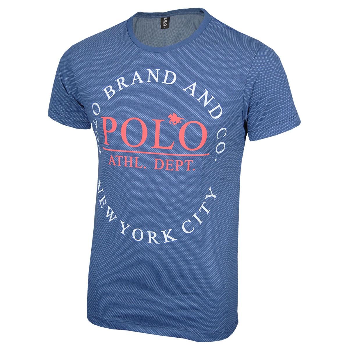 Camiseta Malha Pontos Polo Rg518