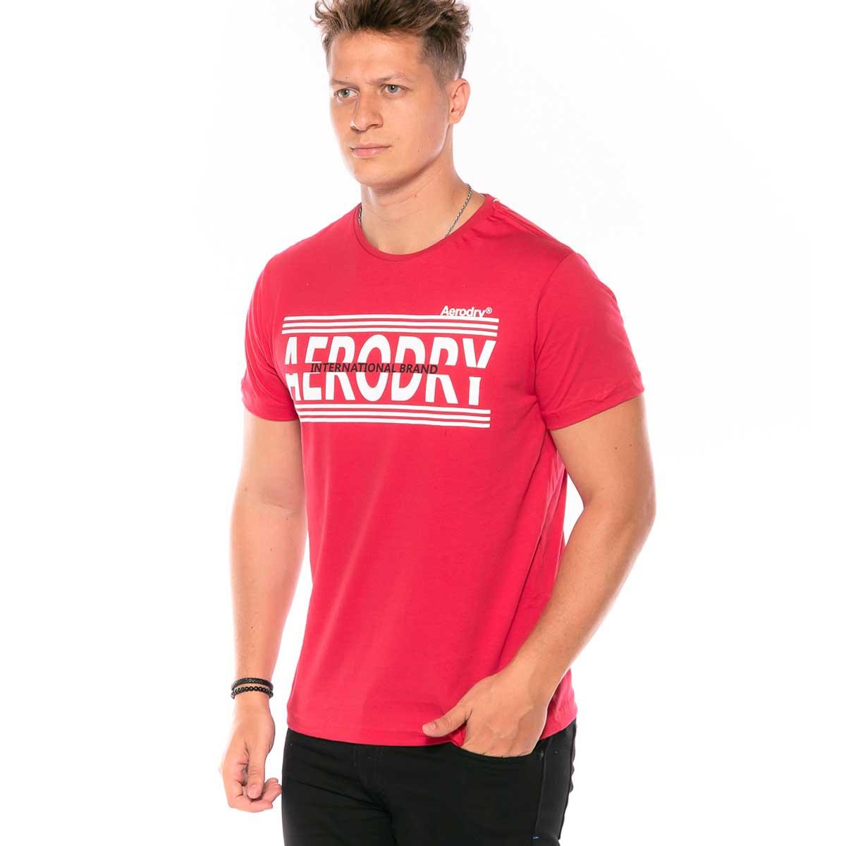 Camiseta Masculina Aerodry com estampa