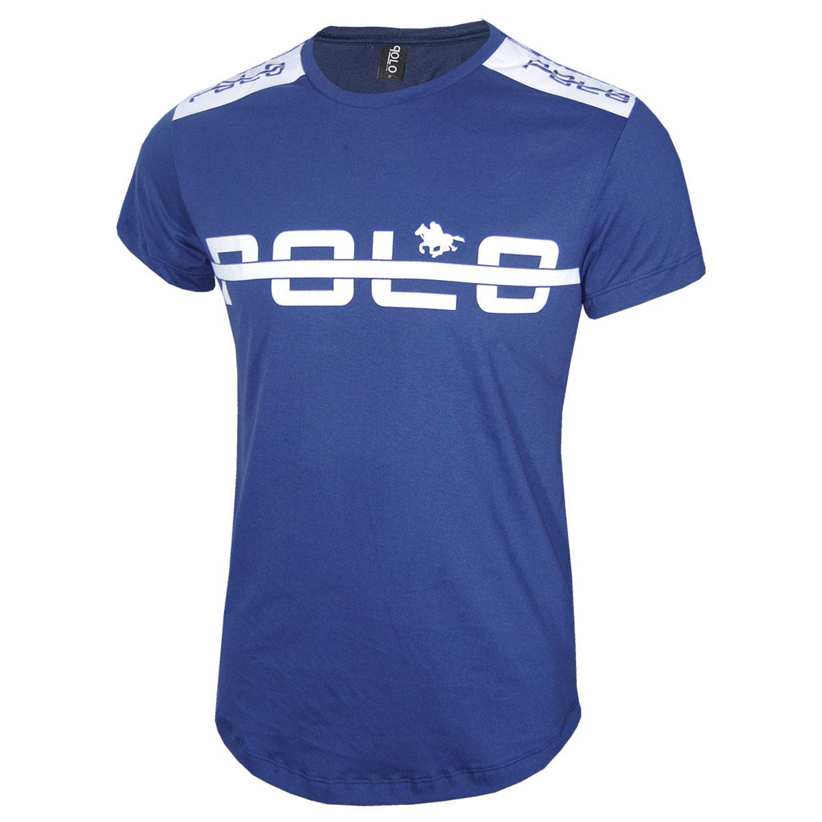 Camiseta Masculina com Estampa em Silk Polo RG518