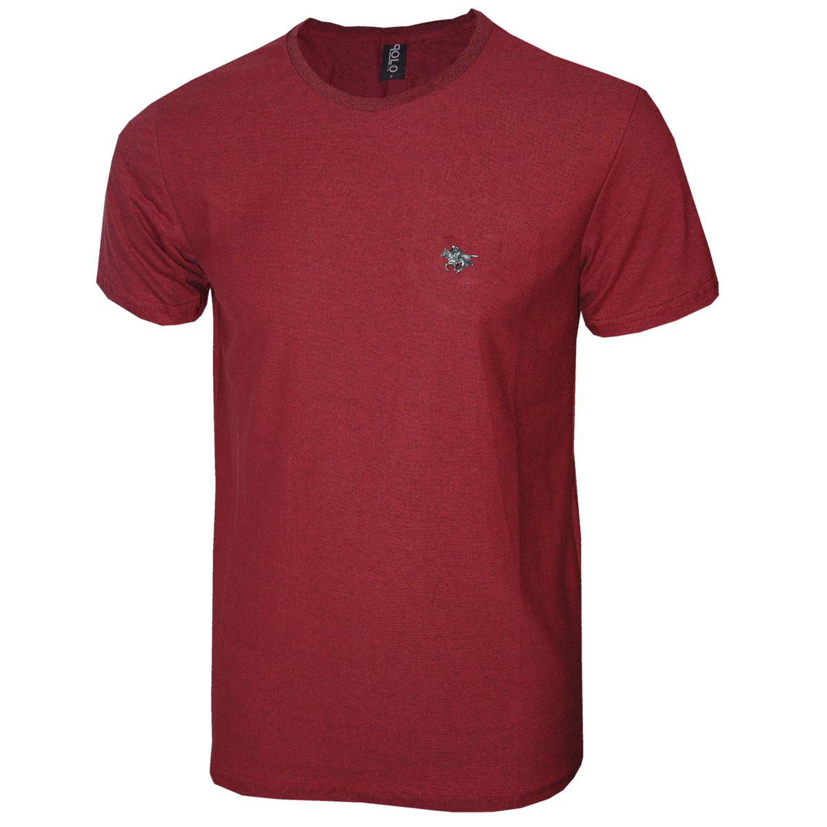Camiseta Masculina  com Logo Metalizado