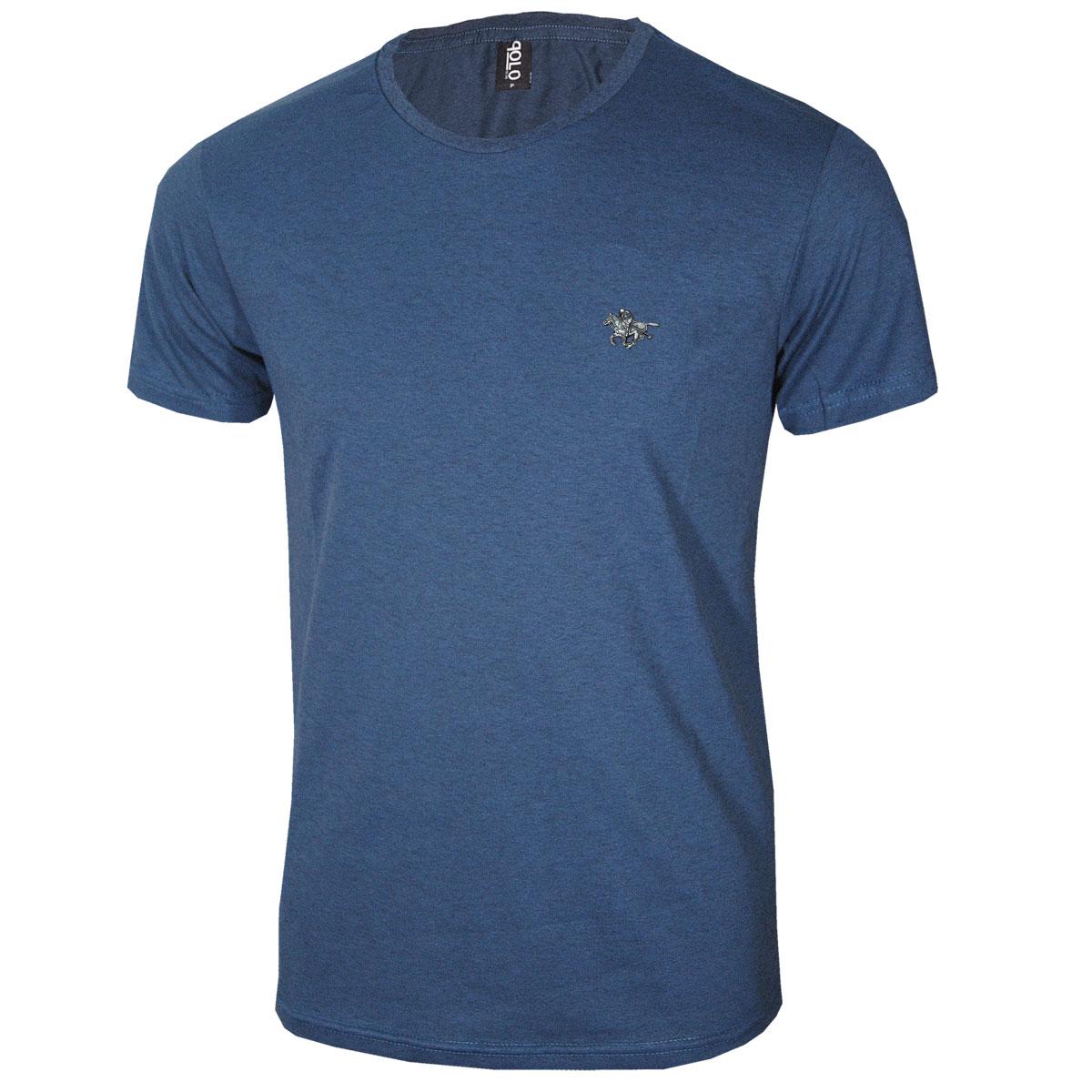 kIt com 2 e leve 3 Camiseta Masculina  com Logo Metalizado