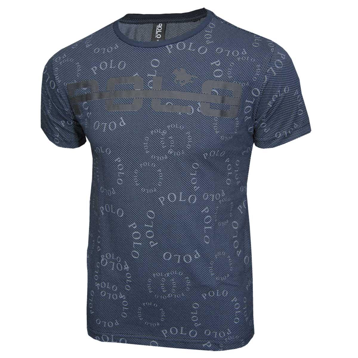 Camiseta Masculina Juvenil  Malha Pontilhada Polo RG518