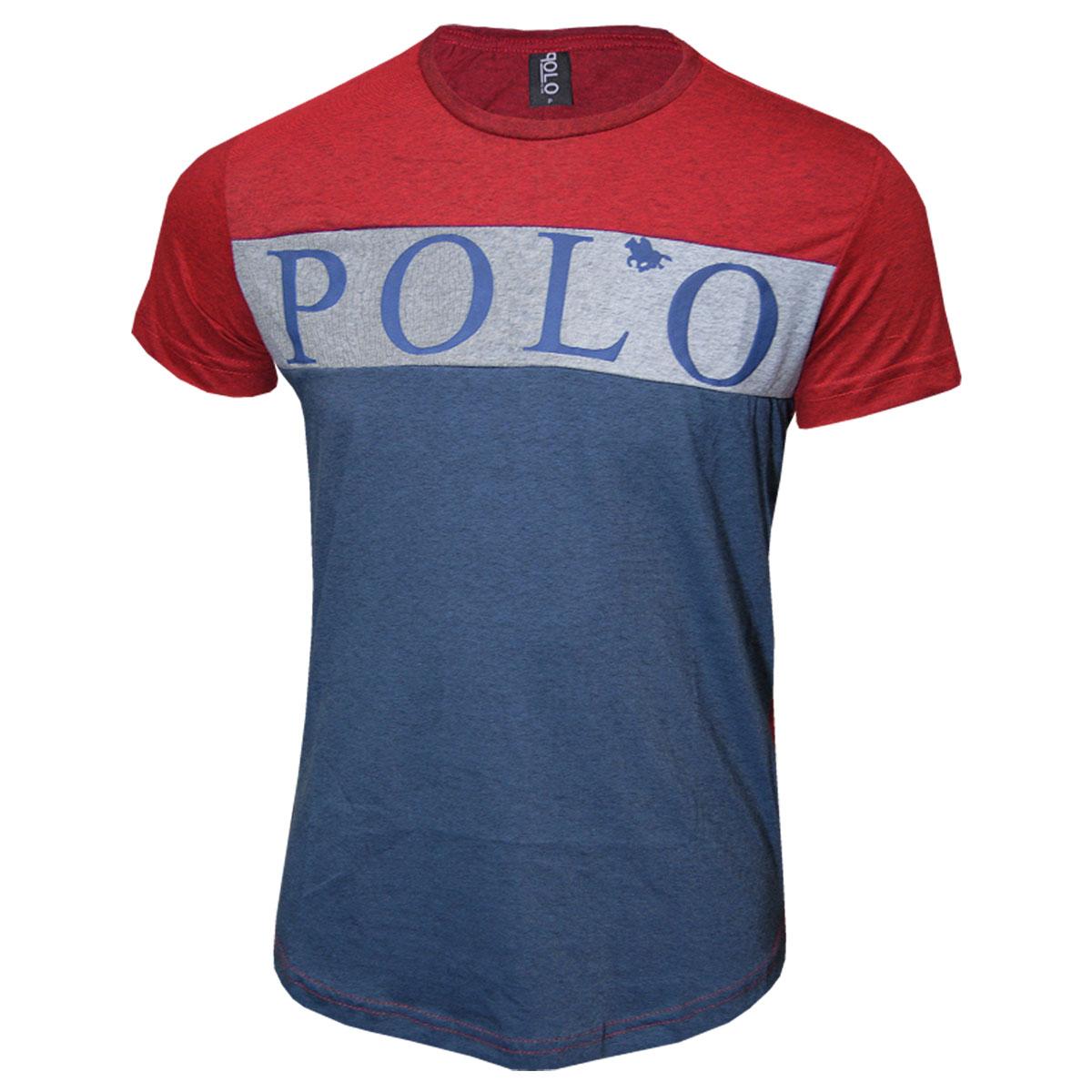 Camiseta Masculina Plus Size Polo RG518