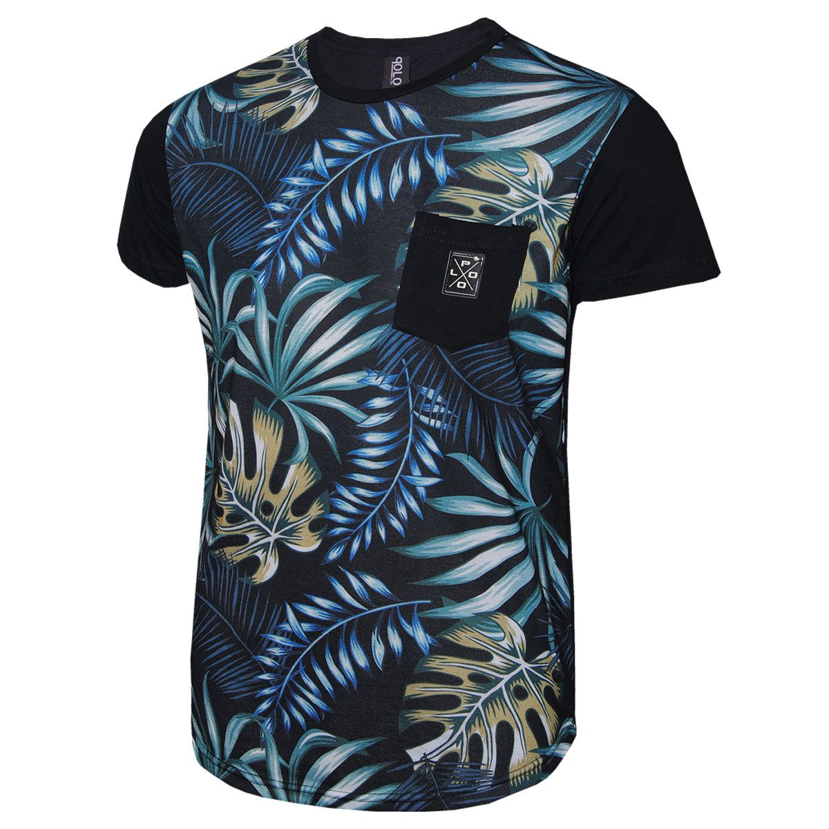 Camiseta Masculina RG518 Leaves