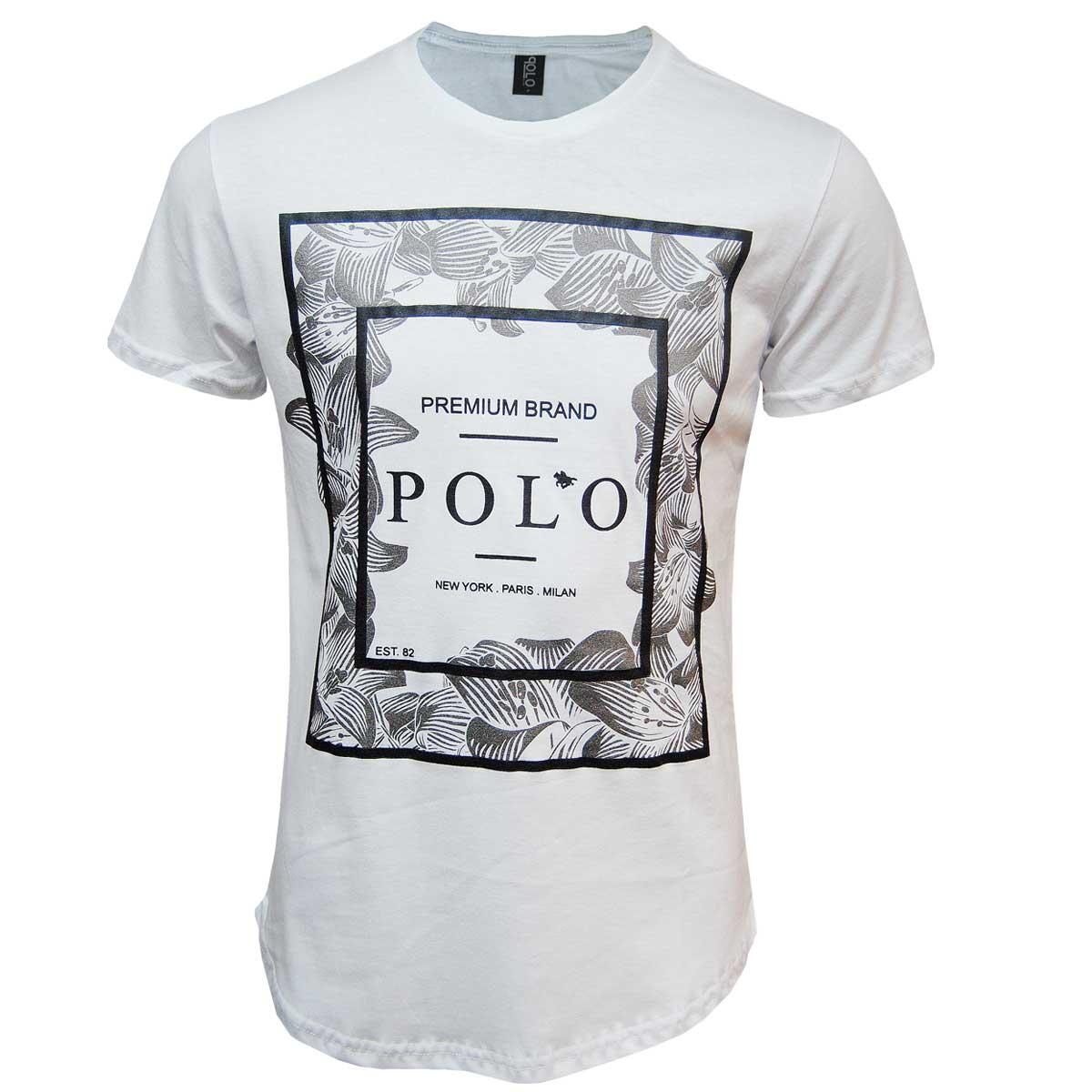 Camiseta  Swag Masculina Premium Brand Polo RG518