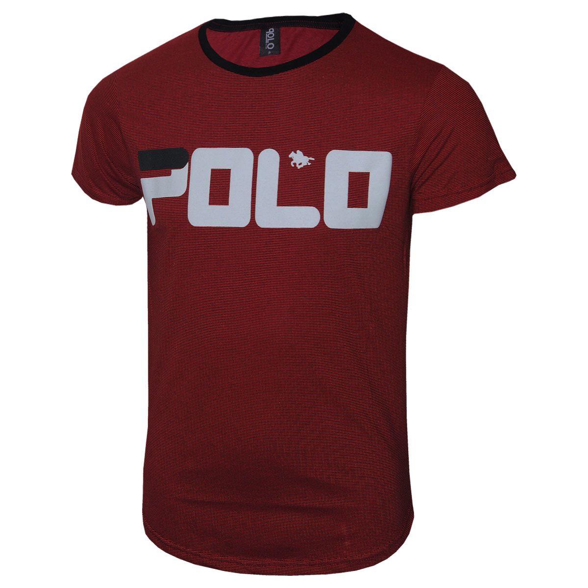 Camiseta Swag Polo Rg518 com Estampa em Silk