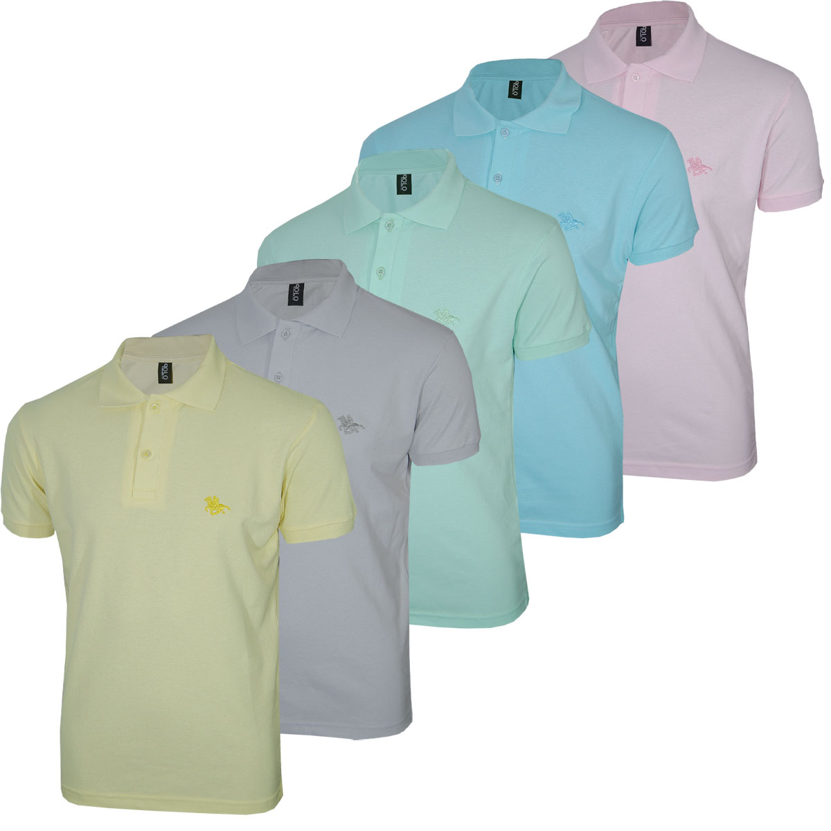 Kit Camisa Polo Masculina  Summer