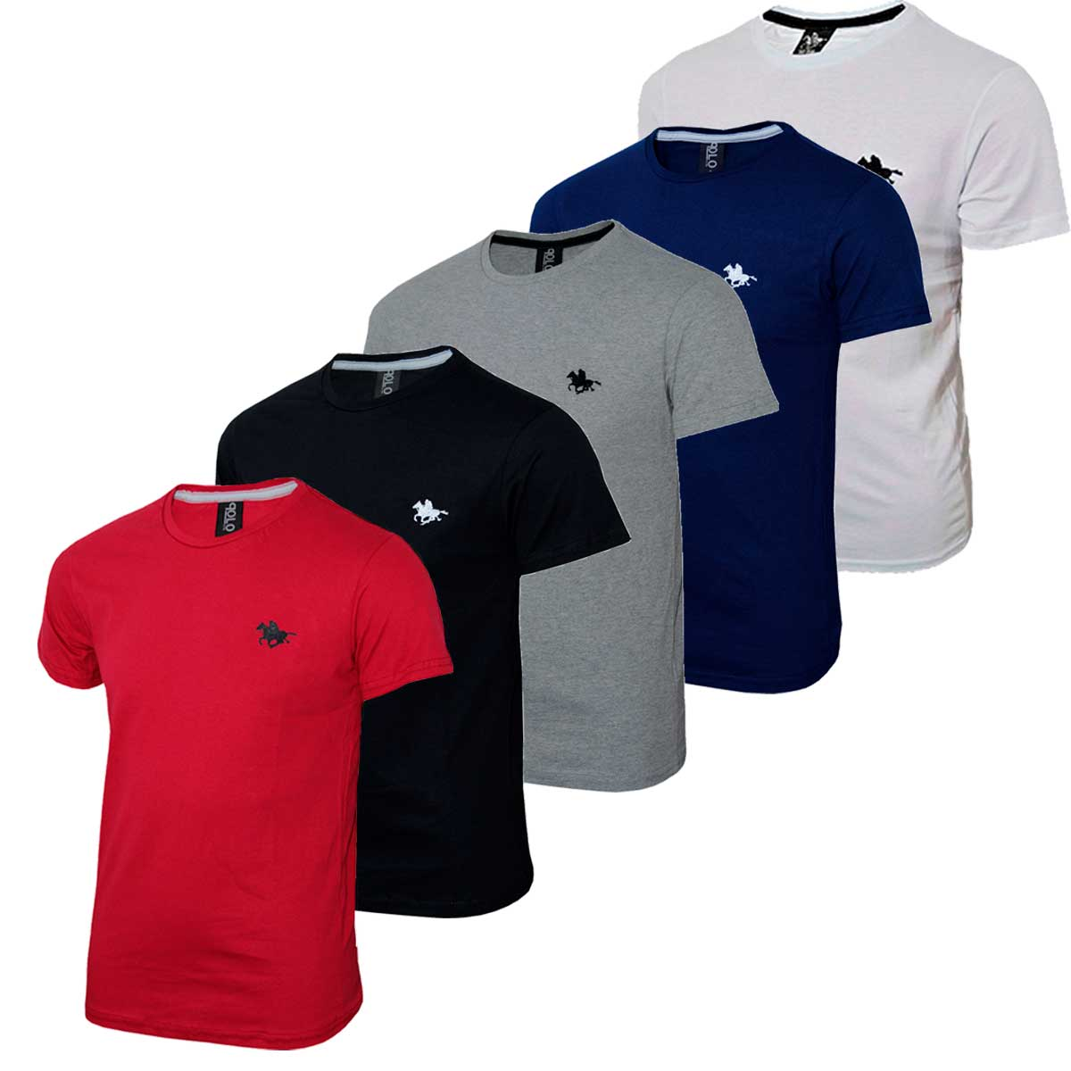 Kit Camiseta Polo RG518 Lisa