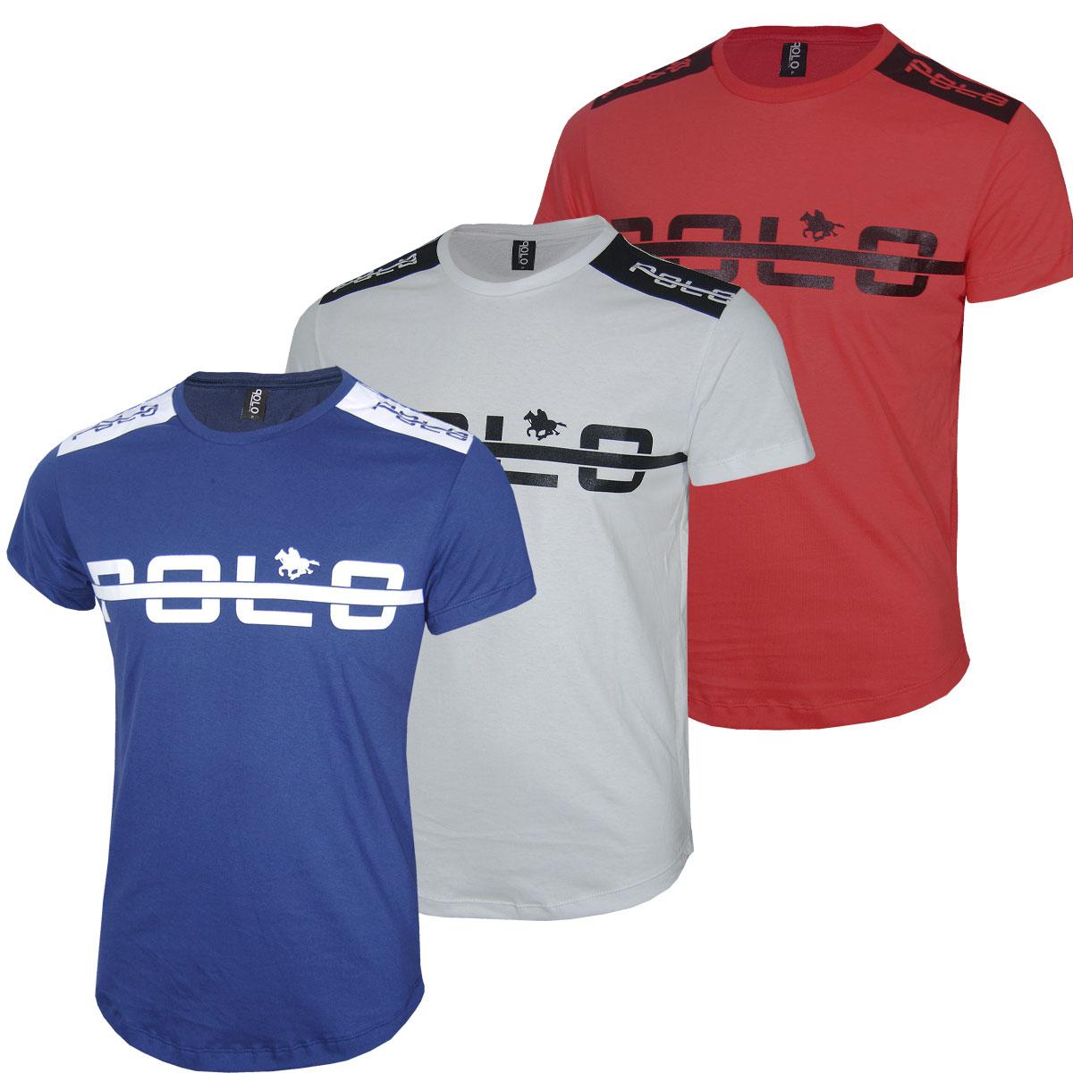 Kit Camisetas Maculinas Swag Long Line Polo Rg518
