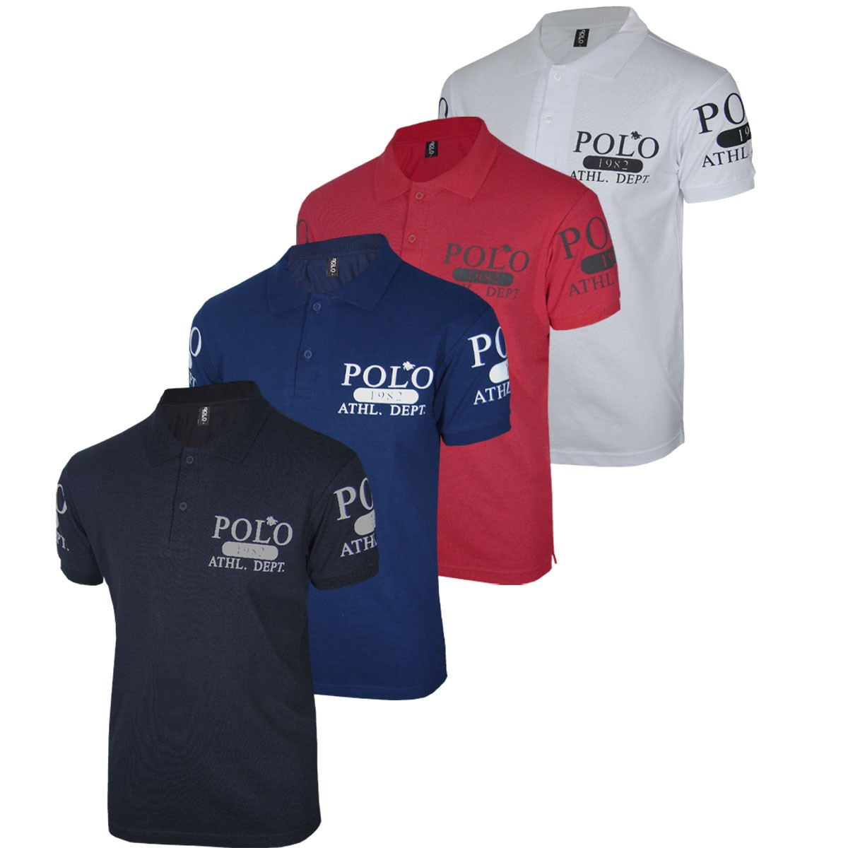 kit Camisetas Masculinas Polo RG518