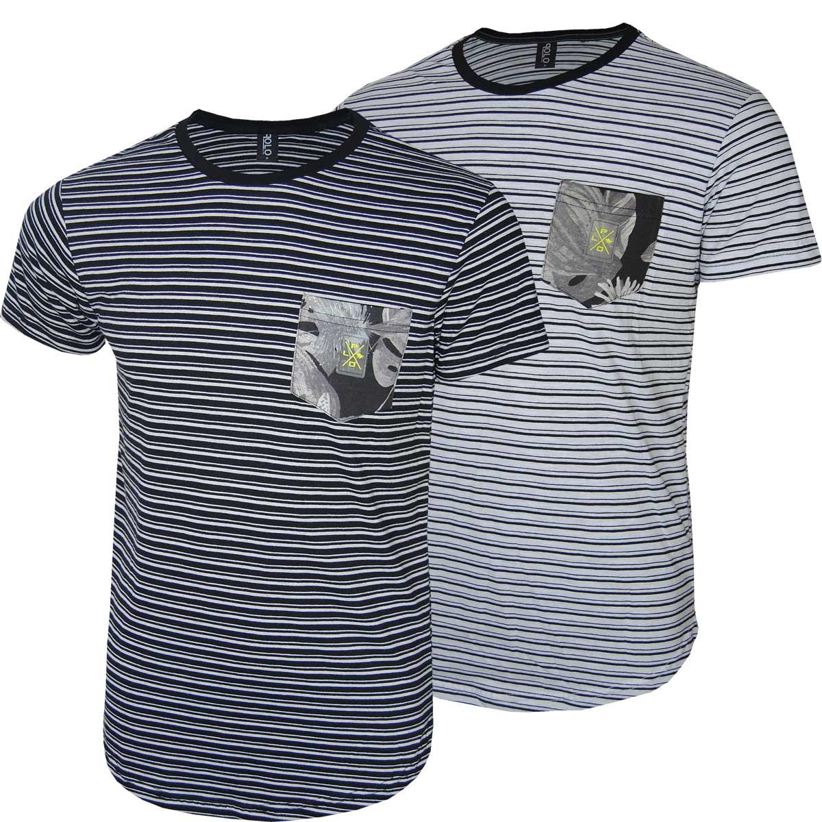 Kit Masculino Camisetas Swag Listras