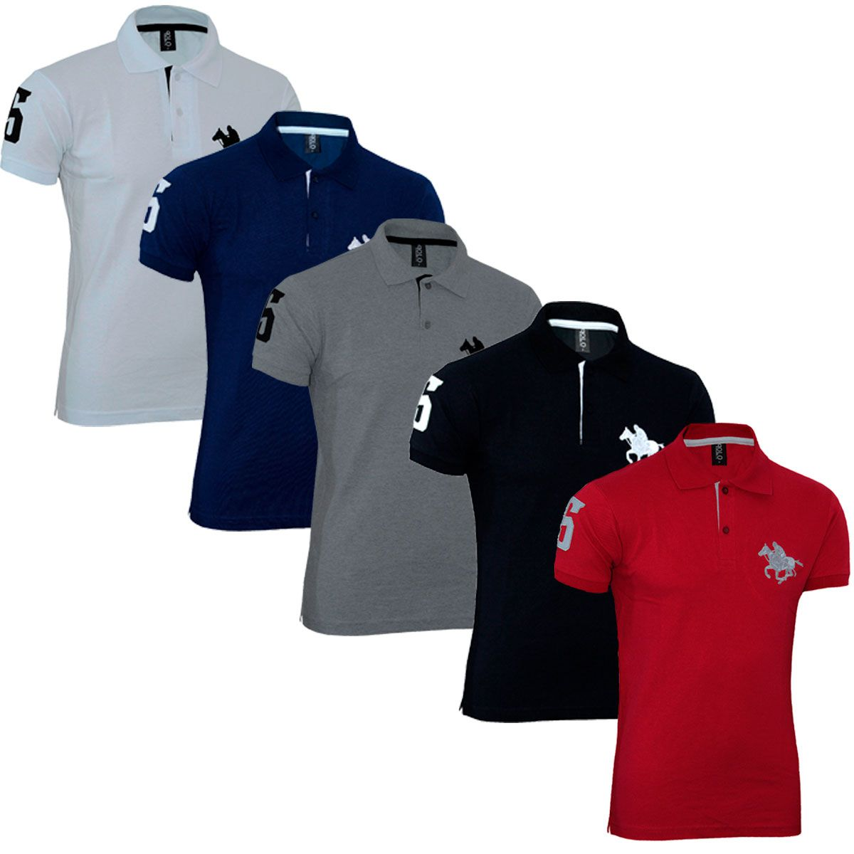 Kit Roupas Polos Masculinas Plus Size Básico