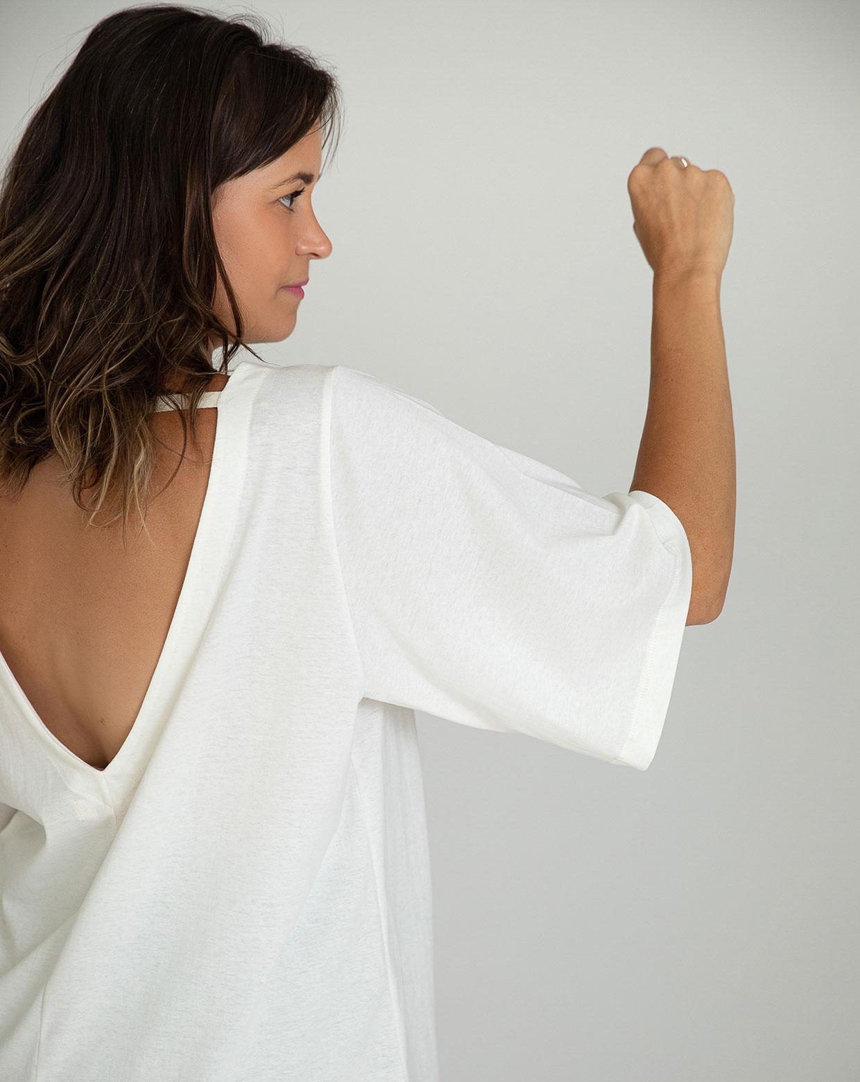 Bata Yoga - Algodão Orgânico Natural