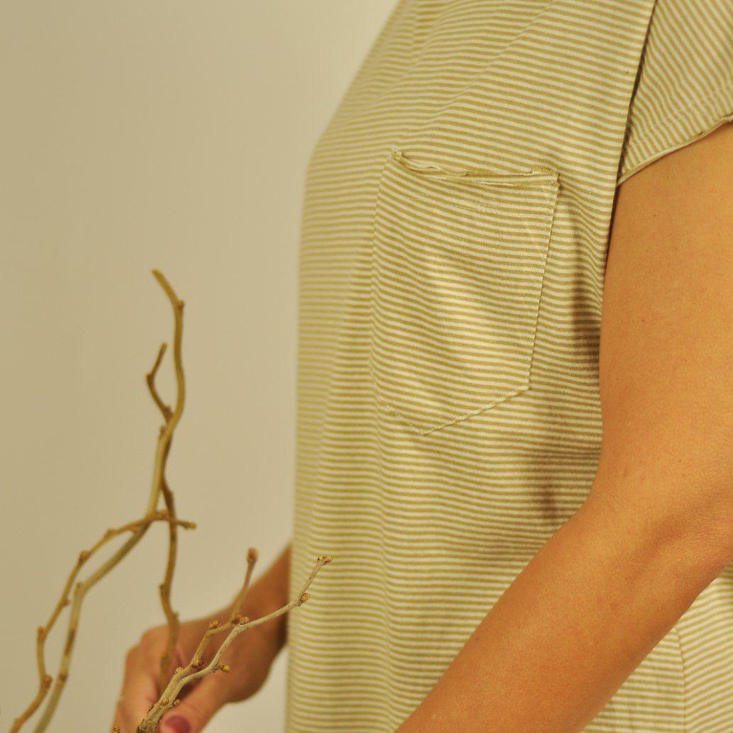 Blusa Ana Cavada- Listra Verde