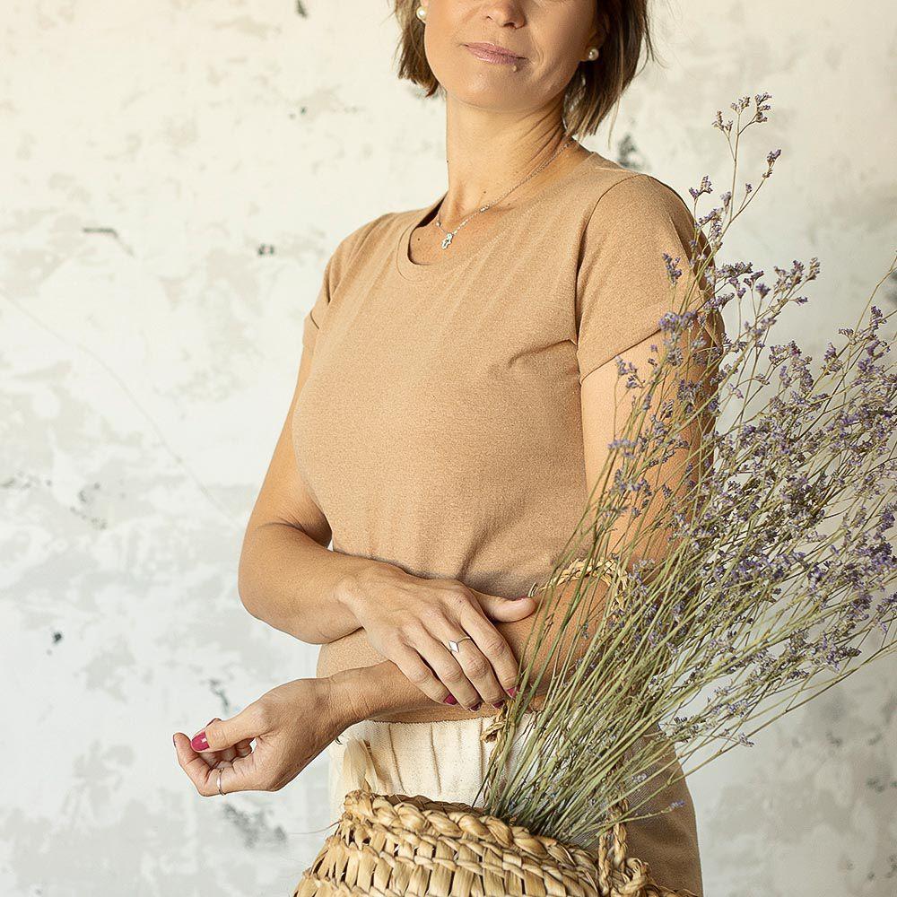 Blusa Lily - Marrom