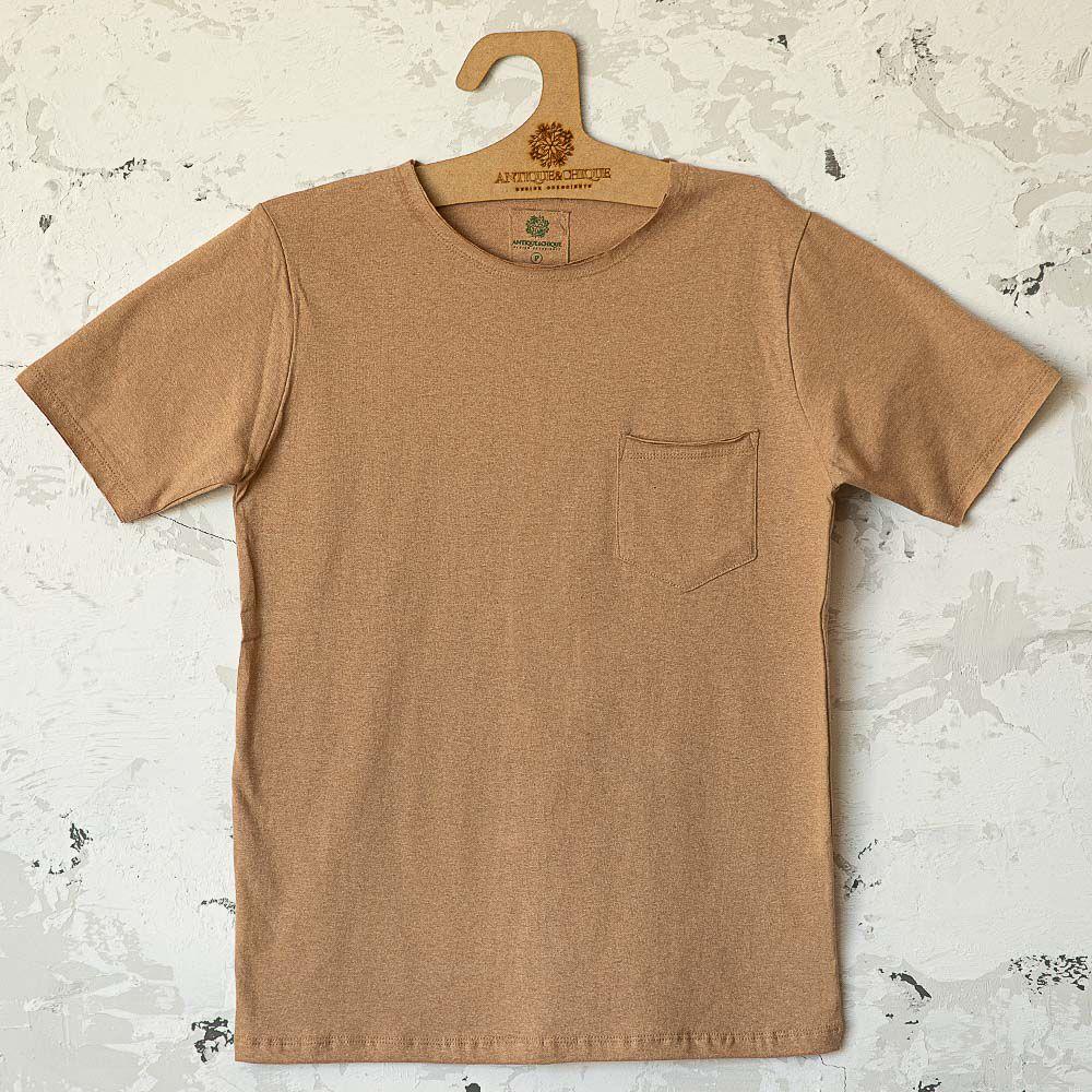 Camiseta Jorge - Marrom