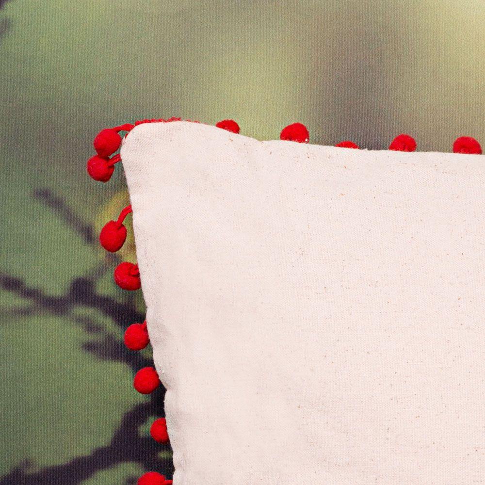 Capa de Almofada Algodão Orgânico -