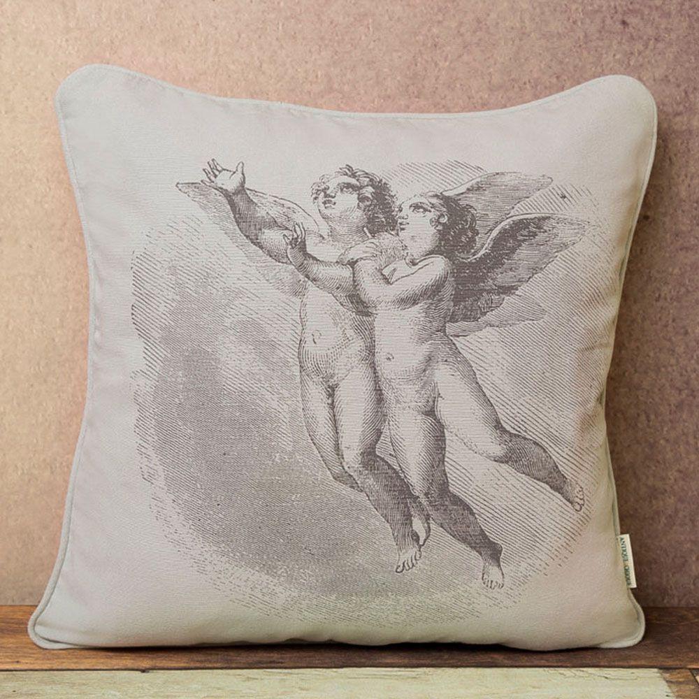 Capa de Almofada - Tecido PET - Angels