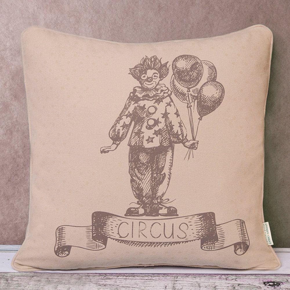 Capa de Almofada - Tecido PET - Circus