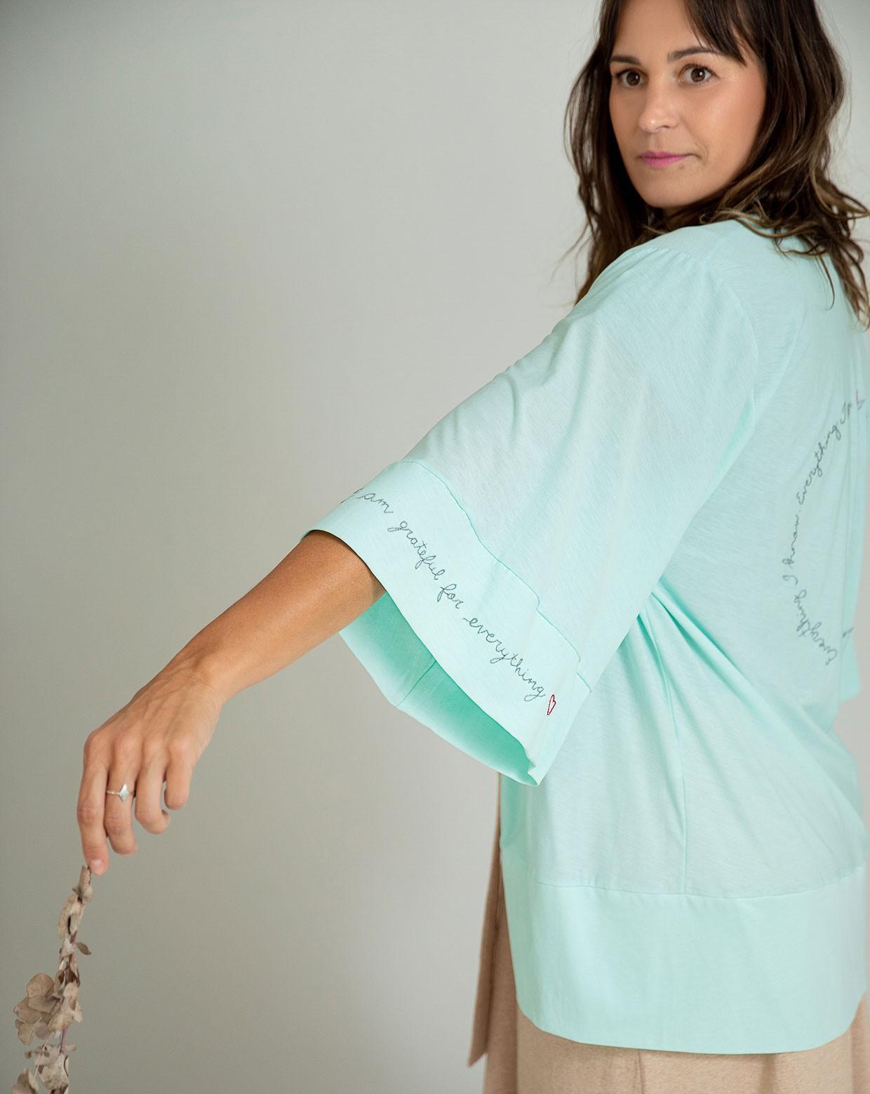 Kimono Grateful - Algodão Orgânico Pima
