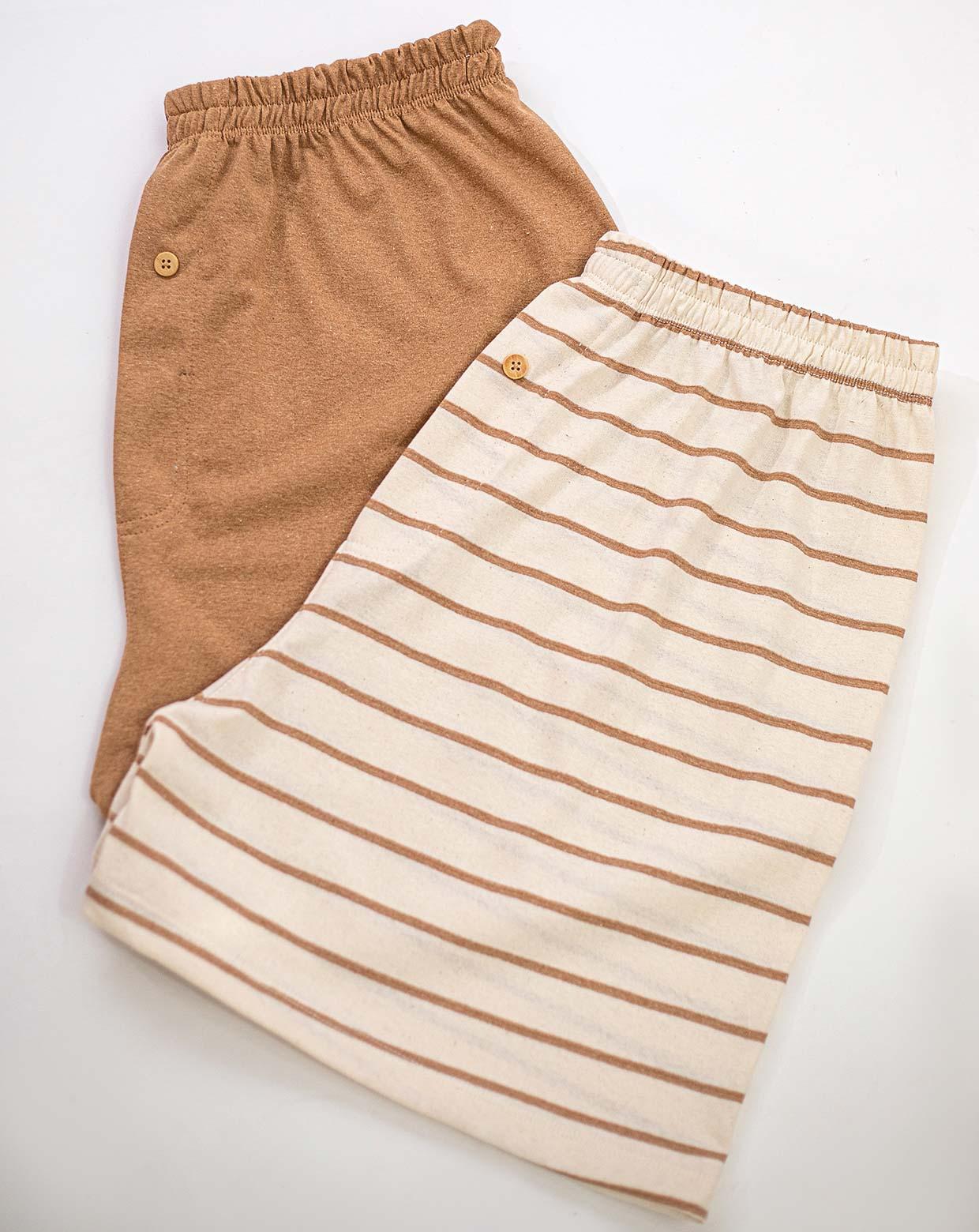 Kit Cueca Shorts - Algodão Orgânico