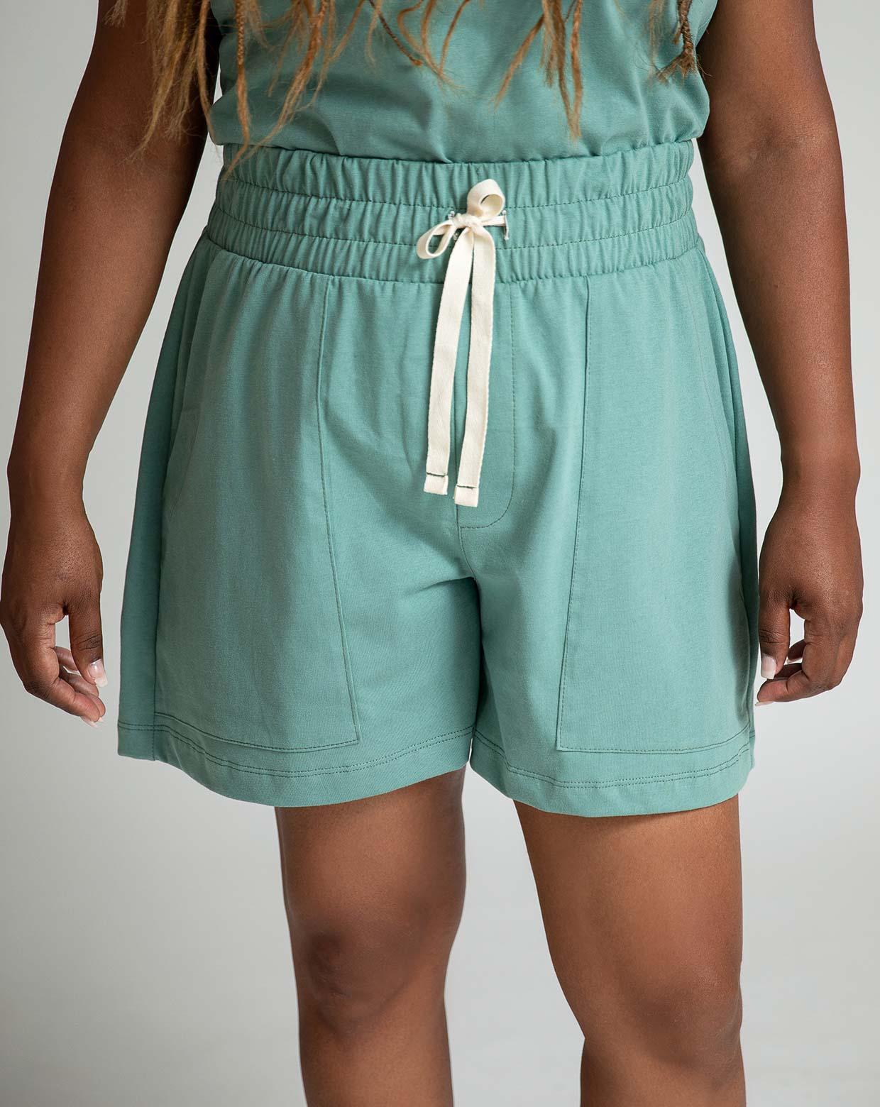 Shorts Pinheiro Verde - Algodão Sustentável