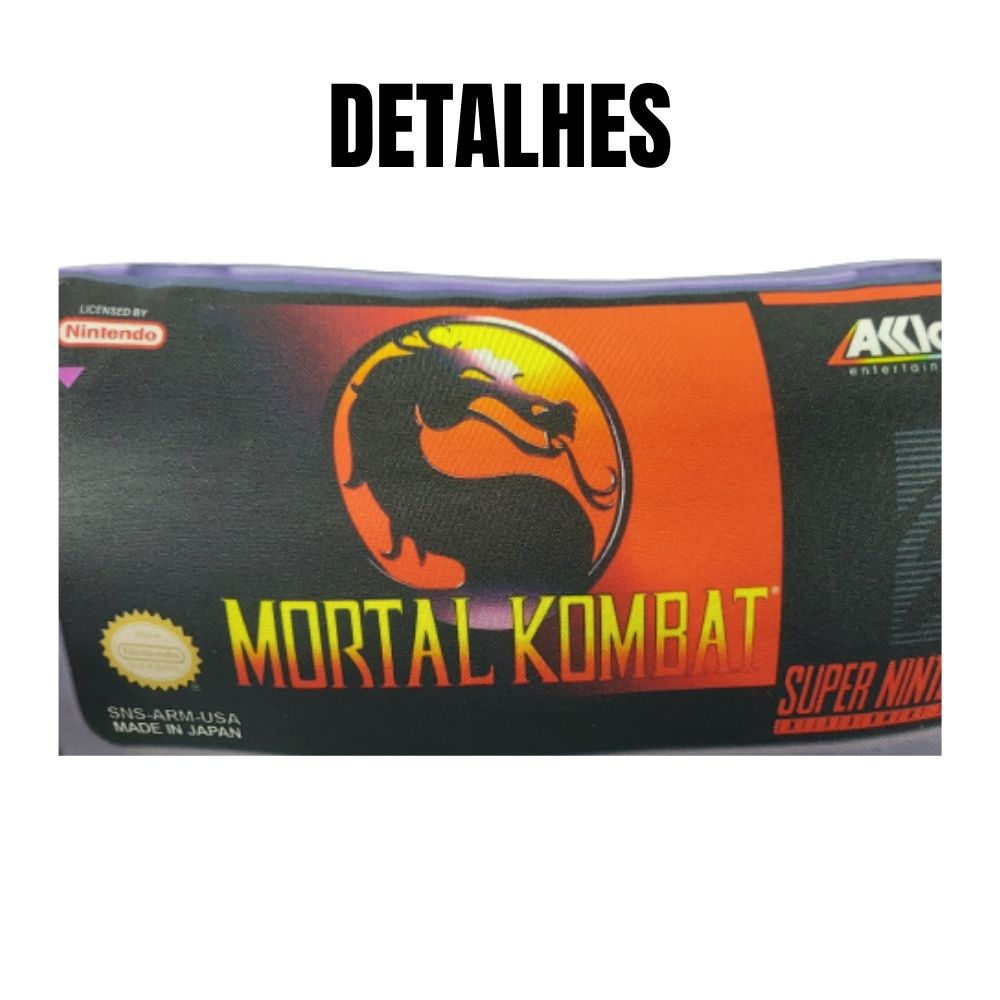 Almofada Decorativa GEEK Mortal Kombat