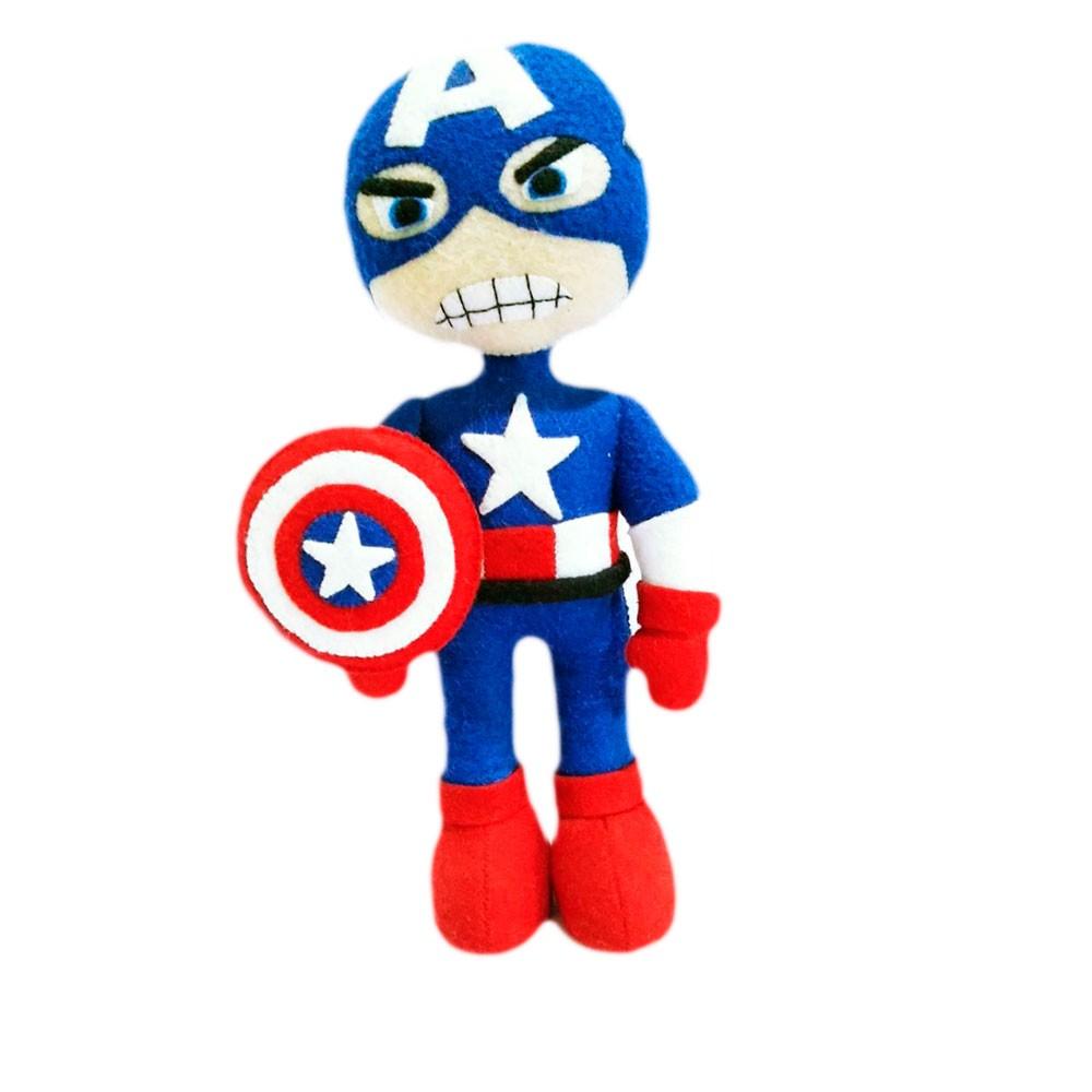 Boneco Capitão América Vingadores