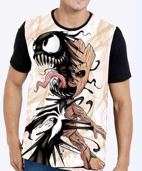 Camiseta Groot Venom Masculina
